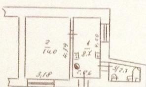 1-комнатная на Лазарева — 16.000 у.е.!