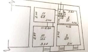 3-комнатная в центре, можно под офис — 9.900 у.е.!
